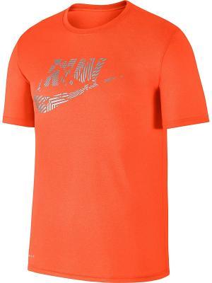 Футболка M NK DRY TEE LGD CORE SESNL Nike. Цвет: оранжевый