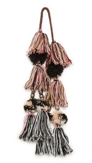 Помпон Lina Mauve MISA. Цвет: розовато-лиловый мульти