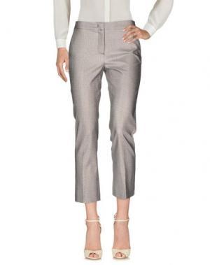 Повседневные брюки ANNIE P.. Цвет: серый