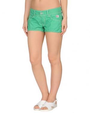 Пляжные брюки и шорты ROŸ ROGER'S. Цвет: зеленый