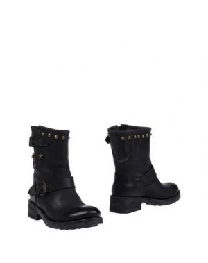 Полусапоги и высокие ботинки GIACKO. Цвет: черный