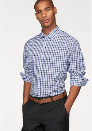 Рубашка Class International. Цвет: белый/синий/темно-синий в клетку
