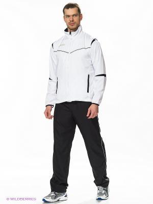 Спортивный костюм SUIT RAFAEL ASICS. Цвет: черный, белый