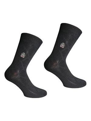 Носки 2 пары Master Socks. Цвет: черный