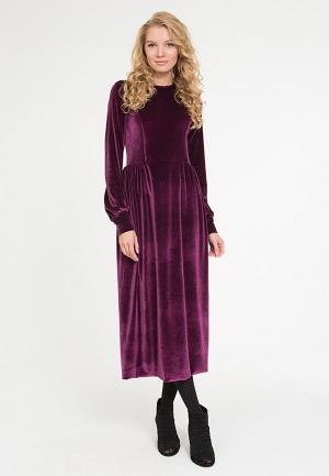 Платье Yaroslavna. Цвет: фиолетовый