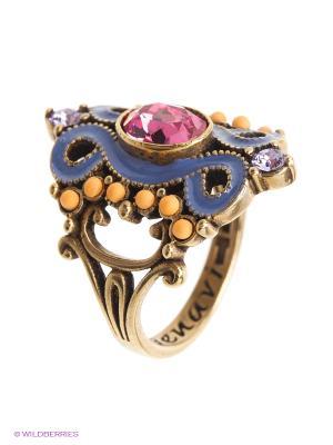 Кольцо Jenavi. Цвет: розовый
