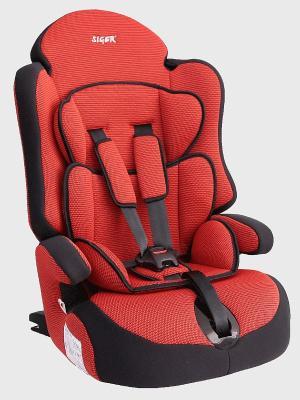 Детское автомобильное кресло ПРАЙМ Isofix SIGER. Цвет: красный