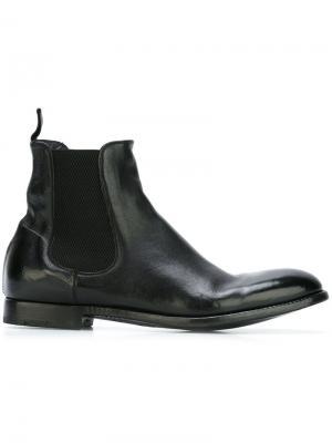 Ботинки челси Morris Alberto Fasciani. Цвет: чёрный