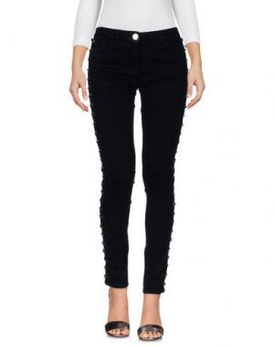 Джинсовые брюки ALMAGORES. Цвет: черный