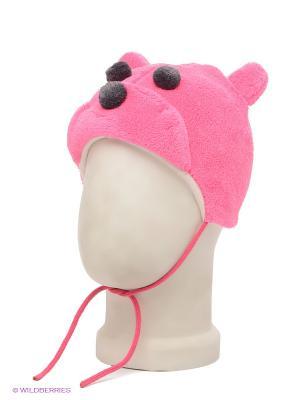 Шапка HUPPA. Цвет: розовый