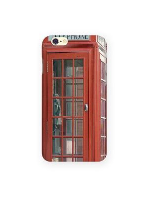 Чехол для IPhone 6 Будка в Лондоне Mitya Veselkov. Цвет: красный, белый