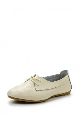 Ботинки Destra. Цвет: бежевый