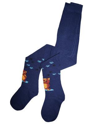 Колготки 1 пара Master Socks. Цвет: темно-синий