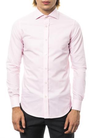 Рубашка UominItaliani. Цвет: розовый