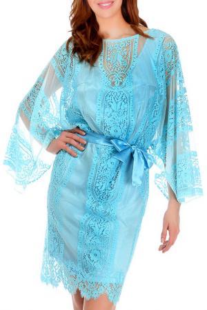 Платье Faust. Цвет: turquoise