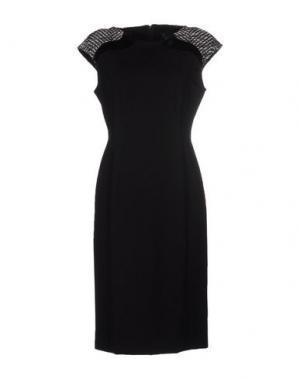 Платье до колена 22 MAGGIO BY MARIA GRAZIA SEVERI. Цвет: черный
