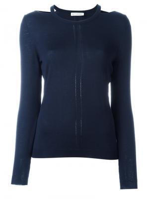 Вязаная блузка Altuzarra. Цвет: синий