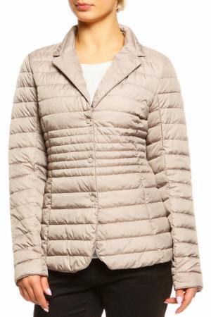 Куртка AZULE. Цвет: бежевый