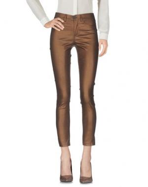 Повседневные брюки DIXIE. Цвет: какао