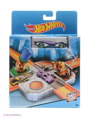 Игровыой набор из серии Город Hot Wheels. Цвет: голубой