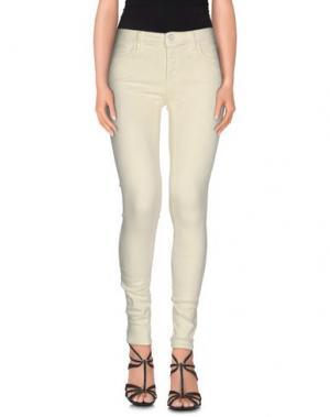 Джинсовые брюки (+) PEOPLE. Цвет: светло-желтый