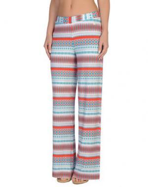 Пляжные брюки и шорты BLUGIRL BLUMARINE BEACHWEAR. Цвет: цвет морской волны