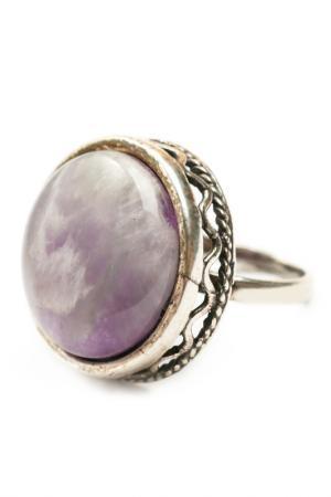 Кольцо ZAXA HADID. Цвет: фиолетовый