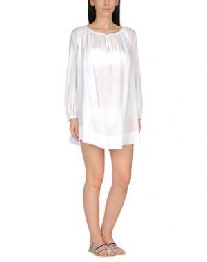 Пляжное платье SIYU. Цвет: белый