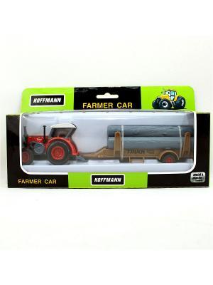 Трактор HOFFMANN. Цвет: черный, зеленый