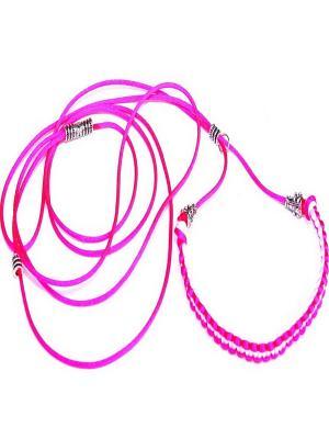 Поводок Doggy Style. Цвет: розовый