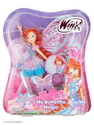 Кукла Winx Club Баттерфликс-2. Двойные крылья Bloom. Цвет: розовый, сиреневый, бледно-розовый