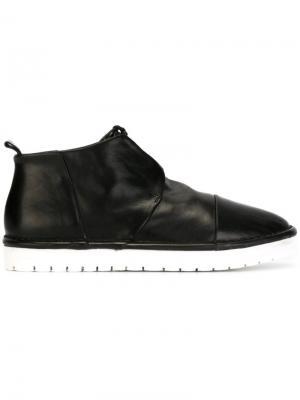 Ботинки-дезерты с панельным дизайном Marsèll. Цвет: чёрный