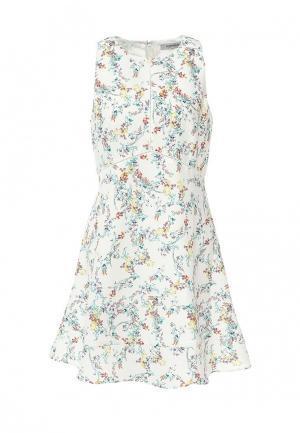 Платье Morgan. Цвет: белый