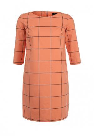 Платье LuAnn. Цвет: оранжевый