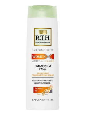 Шампунь R.T.H. WOMEN Питание и уход RTH. Цвет: белый