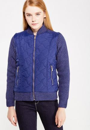 Куртка утепленная Roosevelt. Цвет: синий