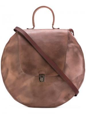 Circle lock bag Cherevichkiotvichki. Цвет: коричневый
