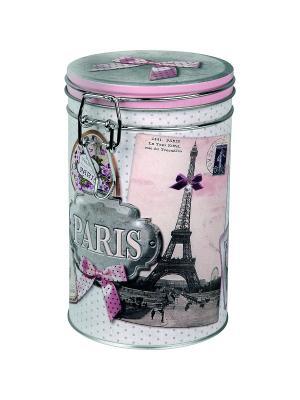 Контейнер для хранения Мечтая о Париже Orval. Цвет: белый, черный, розовый