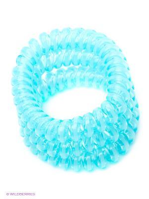 Резинка-браслет для волос Mitya Veselkov. Цвет: голубой