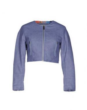 Куртка DUCK FARM. Цвет: сиреневый
