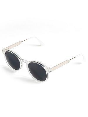 Солнцезащитные очки Selena. Цвет: белый, серый