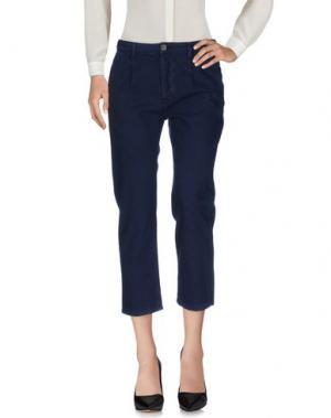 Повседневные брюки J-CUBE. Цвет: темно-синий