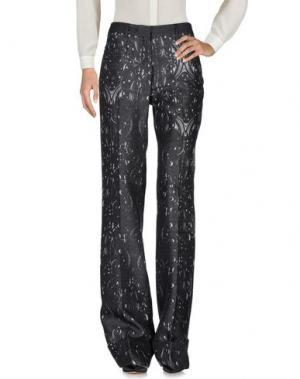 Повседневные брюки PICCIONE•PICCIONE. Цвет: свинцово-серый