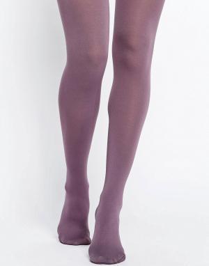 Gipsy Красновато-лиловые колготки. Цвет: фиолетовый