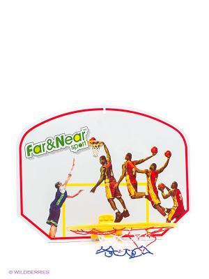 Набор баскетбольный Far&Near. Цвет: белый