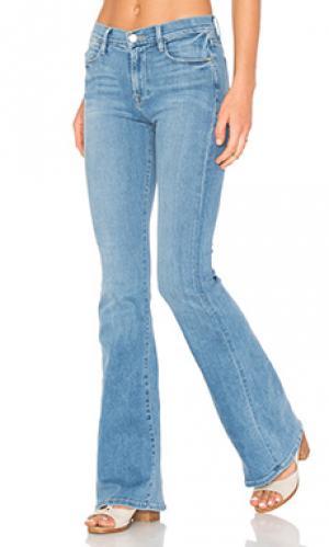 Расклешенные джинсы le high flare FRAME Denim. Цвет: none