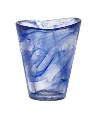 Mine blue тумблер 30cl Kosta Boda. Цвет: синий
