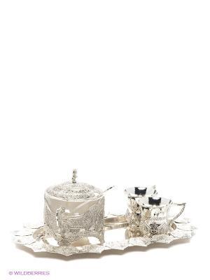 Чайный набор Marquis. Цвет: серебристый