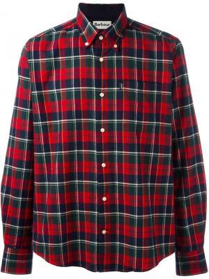 Рубашка Castlebay Barbour. Цвет: красный