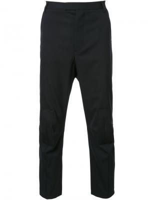 Укороченные брюки Matthew Miller. Цвет: чёрный